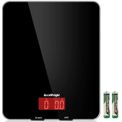 accuweight digital multifunction kitchen and food scale