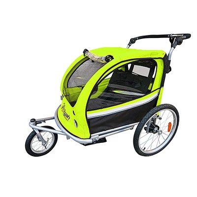 booyah bicycle trailer stroller