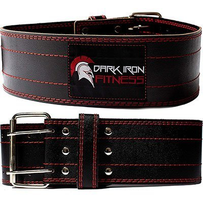 dark iron fitness genuine pro weight lifting belt