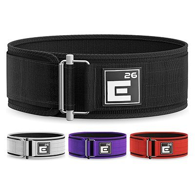 element 26 self locking weight lifting belt