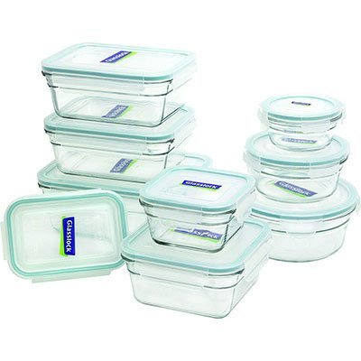 glasslock 18 piece assorted
