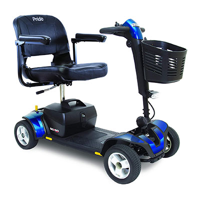 pride mobility s74 go go sport 4 wheel electric mobility scooter