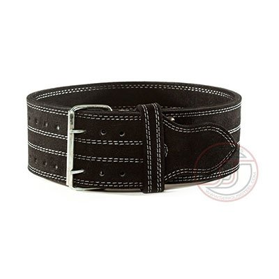 serious steel fitness leather weight lifting belt