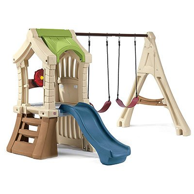 If You Are Looking For A Toddler Swing Set With Playhouse Area Then This May Be Better Option Also Play Is Slightly Smaller Than