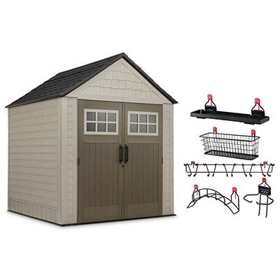 Rubbermaid Storage Sheds: Horizontal and Vertical Storage Sheds